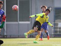 選手権得点王FW飯島と北九州加入のFW佐藤颯がゴール。日本高校選抜候補は阪南大とドロー