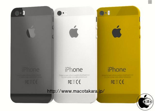 iPhone 5Sは3色展開? ゴールド追加でブラック→グレーに変更との噂。廉価版iPhoneはやっぱり5色っぽい - エキサイトニュース