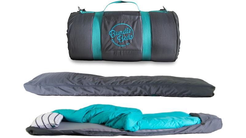 マットレス、枕、シーツ付き。この新しい「寝袋」が追求したものとは? 2016年3月15日 エキサイトニュース 1 2