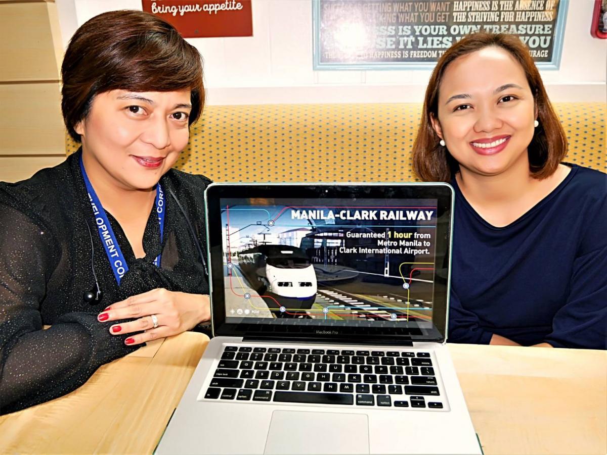 フィリピン「クラーク~マニラ2020年鉄道開通」空港拡張、観光ハブの ...