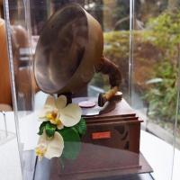 蘭の花もチョコ!音が鳴る蓄音機型のチョコレートが限定発売