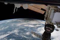 宇宙から見た皆既日食…国際宇宙ステーションからとらえた!