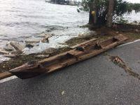 ハリケーンの贈り物?16世紀のカヌーが川で見つかる 米国