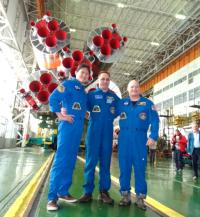 宇宙飛行士・金井さん 17日にISSへ「宇宙で健康長寿の秘密探る」