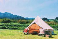出張グランピング「絶景デリバリー」で、手軽にお気に入りの絶景スポットに宿泊しよう!