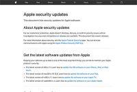 Apple、「iOS 11」や「Safari 11」のセキュリティ情報を公開