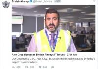 British Airways、システム障害で土曜のロンドン出発便が全欠航に