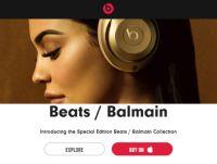 Apple、高級ブランド「バルマン」コラボのSafari色Beatsヘッドホン発売