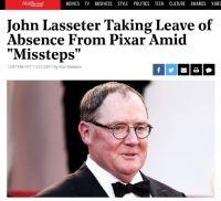 "Pixer共同創業者のジョン・ラセターCCO、""過失""で半年休職へ"
