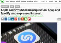 Apple、音楽認識サービスShazamの買収を認める
