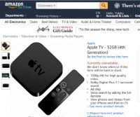 Amazon、「Apple TV」やGoogleの「Chromecast」の販売を再開