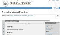 米連邦政府、「ネット中立性」撤廃を公布 さっそくFCC提訴始まる
