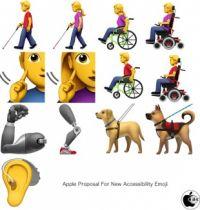 Apple、障害者絵文字を標準化提案