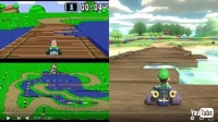 進化ぶりが一目瞭然! Nintendo Switch「マリオカート8 デラックス」リメイクコースをオリジナルと比較した映像