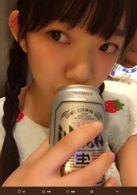 """""""合法ロリ""""長澤茉里奈の飲酒写真がセーフなのにアウトにしか見えない ファン「未成年に見える」"""