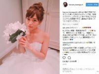 """「女でも結婚してほしい」 川口春奈の純白ウエディングドレス姿が""""理想の花嫁""""でしかない"""