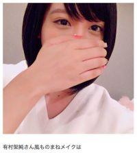 みね子は東京で頑張ってます ざわちん、「ひよっこ」有村架純のものまねメークで「比較的似せれた方かな」