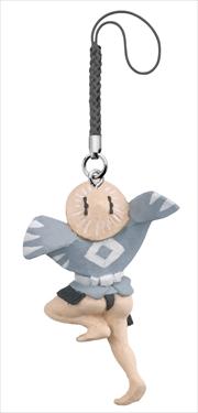 「北斎漫画」の雀踊りがフィギュアに カプセルトイで登場
