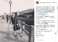 """「まだまだ制服いける」 瀧本美織、""""昭和風""""のおさげ姿がまるでクラスのマドンナ"""