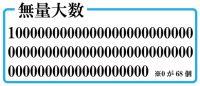 「ククク……無量大数などわれらの中では最小……」 全世界のインクを使っても書けない「巨大数」の世界