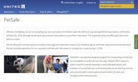 ユナイテッド航空、ペットの輸送プログラムを改善のため一時停止 子犬を死なせた事故を受けての措置か