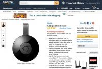 さすがのAmazonもYouTube視聴不可は困る? Chromecastの販売を再開へ(Apple TVも)