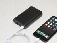 USB PD急速充電に対応した約1万mAhのモバイルバッテリー