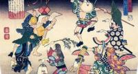 アホすぎるwww 歌川広重の浮世絵「盆踊り」がアホすぎて愛おしすぎて悩み吹っ飛ぶレベル
