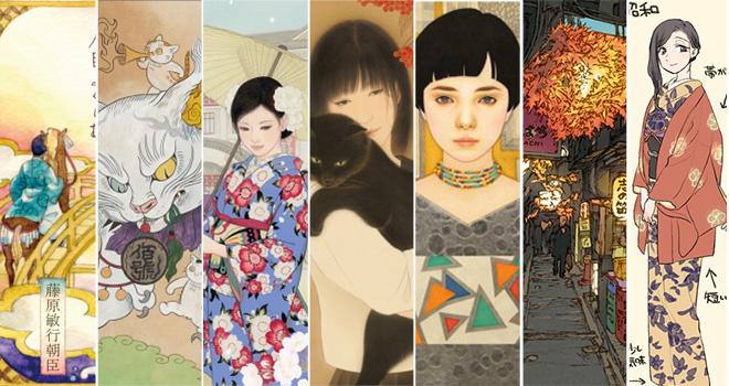 今後も超注目!国内アートの未来への期待を膨らませずにはいられないイラストレーター&日本画家