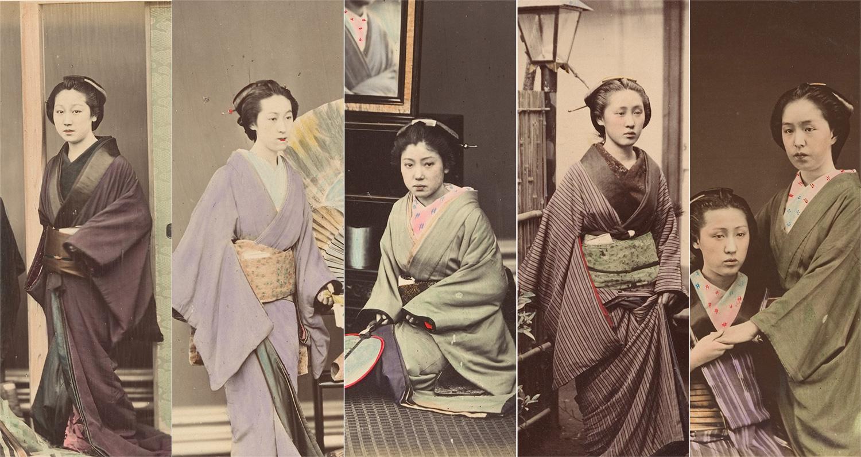 雰囲気ステキです!着物の着方にも注目、明治初期の着物女性たちの古写真いろいろ (2017年3月8日) - エキサイトニュース