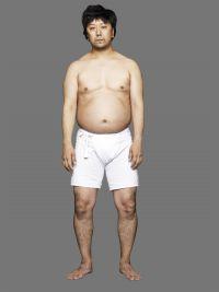 海老蔵がアシスト!? 3か月で24.8キロ減 歌舞伎俳優・市川九團次のぽっこりお腹はどこへ消えた?