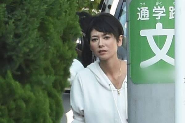 真木よう子さんのポートレート