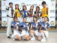 台湾プロ野球リーグと4球団合同でチア結成  代表選手にエール  アジアCS