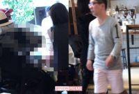 田中裕二の子煩悩っぷりがスゴい! 山口もえ&3人の子どもとカフェに訪れる