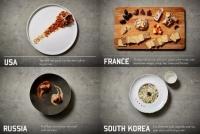 これが戦闘食だと?一皿ごとに漂う高級感。世界各国のミリメシをミシュランの三ツ星レストラン風に盛り付けてみた。