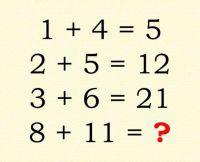 SNS上で超話題となっている知能検査と称したこの計算問題、君は解くことができるかな?