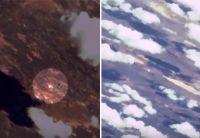 複数の人工衛星が個別に撮影した静止画を組み合わせて作り上げた宇宙船ソユーズ打ち上げの動画