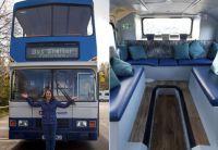 使用済みのバスをシェルターに大改造。急増するホームレスたちに救いの手を差し伸べるプロジェクト(イギリス)