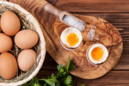 ゆで 卵 タンパク質