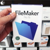 Apple Store、ファイルメーカーのカスタムアプリ作成ソフト「FileMaker Pro 16」を販売開始