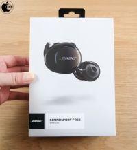 Apple Store、Boseのフルワイヤレスイヤフォン「Bose SoundSport Free Wireless Headphone」を販売開始