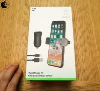 Apple Store、Belkinの自動車用アクセサリキット「Belkin Travel Charge Kit」を販売開始