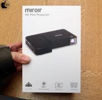 Apple Store、Miroir USAのUSB-C接続対応モバイルHDプロジェクタ「Miroir HD Mini Projector M175」を販売開始