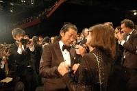 <カンヌ映画祭>河瀬監督、永瀬さんら拍手に感極まり涙