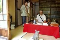 <愛知・明治村>漱石の書斎再現 「吾輩は猫である」執筆時
