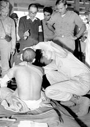 <広島原爆アーカイブ>「近寄るな」軍人、病床で最期の抵抗