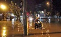 <秋田大雨>「こんな雨初めて」7月降水量の1.5倍以上も