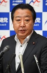 <民進党>野田幹事長が辞意表明 蓮舫代表は衆院くら替え