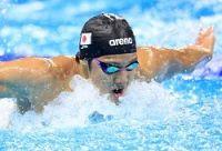 <世界水泳>200バタ、瀬戸大也「銅」