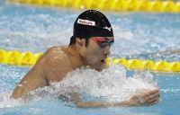 <世界水泳>萩野、復活の銀 男子200個人メドレー